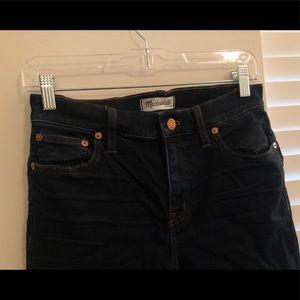 Madwell skinny cut off jeans
